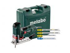 Metabo STE 100 QUICK SET Decoupeerzaag incl. 20 decoupeerzaagbladen in koffer - 710W - T-greep - variabel - 601100900