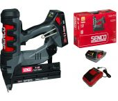 Senco Fusion F-18 18V Li-Ion Accu brad tacker set (2x Li-Ion accu) in koffer - 15-55mm - 18 Gauge - 6E2501N