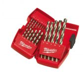 Milwaukee 4932352374 19 delige Metaalboren in cassette