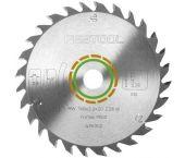 Festool 768129 / 160x2.2x20 W18 - Standaard zaagblad - 160 x 20 x 18T - Hout 768129