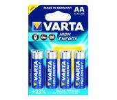 Varta High Energy Batterij - Alkaline - AA-e - 1,5V (4st) - 4906121414