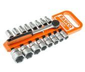 "Bahco S80/17 17-delige Dopsleutelset met ratel - 1/2"""