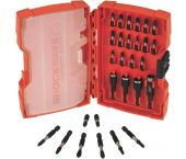 Milwaukee 4932352455 28 delige shockwave bitset in cassette
