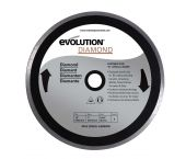 Evolution 255DIA Diamantzaagblad - 255 x 25,4 - Keramiek / Zandsteen / Marmer / Steen / Porselein / Tegels