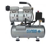 Hyundai 55751 Stille compressor olievrij - 8 bar - 6L