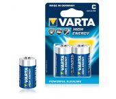 Varta HIgh Energy Batterij - Alkaline - C-e - 4914121412