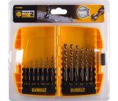 DeWalt DT7920B 13 delige metaalboorset in cassette - DT7920B-QZ