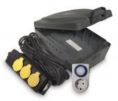 Masterplug WBXIP38T/S-MP Waterbestendig stekkerdoos