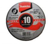 Makita D-18770 Doorslijpschijf - 125 x 22,23 x 1,2mm - RVS - inox (10st)