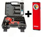 Rodac RC2751BC Pneumatische Slagmoersleutelset in koffer - 610Nm + gratis Rodac RALA950 Inspectielamp t.w.v. €60 - + 8 krachtdoppen