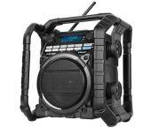 PerfectPro STEAMPACK2U Bouwradio - FM RDS - DAB+ - USB - Bluetooth - Aux-in - netstroom & batterij