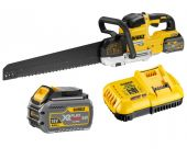 DeWalt DCS396T2 18V/54V Li-Ion accu XR FlexVolt Alligatorzaag set (2x 6.0Ah accu) - 295mm - koolborstelloos - DCS396T2-QW