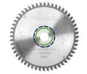 Festool 496306 / 160x2,2x20 TF52 Cirkelzaagblad - 160 x 20 x 52T - Aluminium