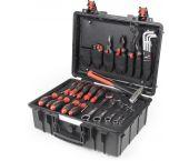 Wiha 44965 40-delige Industrial Gereedschapskoffer Basic set L - 930071401