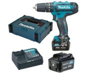Makita HP331DSMJ 10.8V Li-Ion accu klopboor-/schroefmachine set (2x 4.0Ah accu) in Mbox
