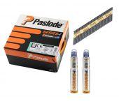 Paslode 142035 / 141076 Stripspijker glad blank + gaspatronen - 3,1x90mm (2200st)