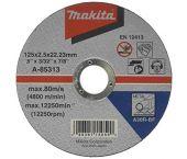 Makita A-85313 Doorslijpschijf - 125 x 22,23mm - Metaal