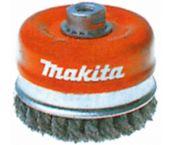 Makita P-04488 Getordeerde komborstel haakse slijper - 65x22mm