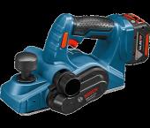 Bosch GHO 14,4 V-LI 14.4V Li-Ion Accu schaafmachine set (2x 4.0Ah accu) in L-Boxx - 82mm - 1,6mm - 06015A0402