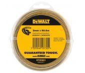 DeWalt DT20651 Grastrimmerdraad - 2mm - 68.6m - DT20651-QZ
