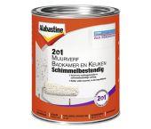 Alabastine 5096068 2In1 Muurverf Badkamer en Keuken Schimmelbestendig - Wit - 1L