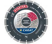 Carat CES2303000 Diamantzaagblad voor droogzagen - 230 x 22,23mm - Universeel