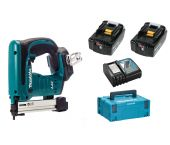 Makita DST221RMJ 18V Li-Ion accu nietmachine set (2x 4.0Ah accu) in Mbox - 10-22mm