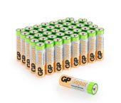 GP Alkaline Super Batterijen - AA - 1,5V (40st) - 03015AB40