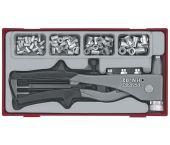 Teng Tools TTNR81 81-delige Blindnietset in tray - 106190101
