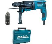 Makita HR2631FT SDS-plus Combihamer in koffer - 800W - 2,4J