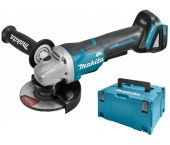Makita DGA505ZJ 18V Li-Ion Accu haakse slijper body in Mbox - 125mm - koolborstelloos
