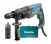 Makita HR2470FT SDS-plus Combihamer incl. snelspanboorkop in koffer - 780W - 2,4J