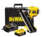 DeWalt DCN692P2 18V Li-Ion Accu constructie tacker set (2x 5.0Ah accu) in koffer - 50-90mm - koolborstelloos - DCN692P2-QW
