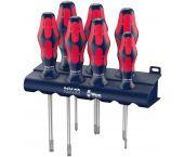 Wera 5227700001 Red Bull Racing 7-delige Schroevendraaierset Kraftform Plus Lasertip