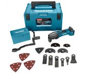 Makita DTM50ZJX3 18V Li-Ion Accu multitool body + 42 delige accessoireset in Mbox