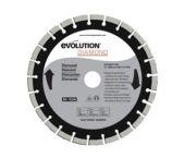 Evolution EVO305DIA Cirkelzaagblad - 305 x 22,2 x 25T - Beton / Steen