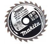 Makita B-21995 Specialized Cirkelzaagblad - 136 x 20 x 24T - Hout