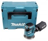 Makita DBO180ZJ 18V Li-Ion Accu excentrische schuurmachine body in Mbox - 125mm