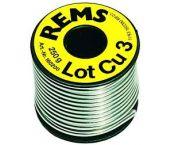Rems Lot Cu 3 Zachtsoldeer S-Sn97Cu3 - 250 gram - 160200
