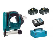 Makita DST221RFJ 18V Li-Ion accu nietmachine set (2x 3.0Ah accu) in Mbox - 10-22mm