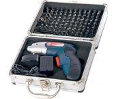 Silverline 263768 3,6V Li-ion accu schroevendraaier set incl. bitset (1x 1,1Ah accu) in koffer