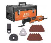 AEG OMNI 300 KIT5 Multitool + 8 delige accessoireset in koffer - 300W - 4935447865