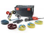 Flex BRE 14-3 125 Set TRINOXFLEX Buizenslijper incl. schuurbanden in L-Boxx - 1400W - 40 x 760mm - 433.446