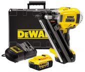 DeWalt DCN692M2 18V Li-Ion accu tacker set (2 x 4.0Ah accu) - koolborstelloos - 50-90mm -  DCN692M2-QW