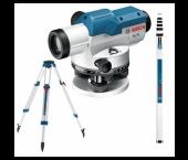 Bosch 06159940AX GOL 32 D Optisch Waterpastoestel 1200mm incl. Statief BT160 & Meetlat GR500 - in Koffer