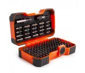 Bahco 59/S100BC 100-Delige Bitset - Gleuf-, Phillips®, Pozidriv®, Hexagon, Robertson en Torx®