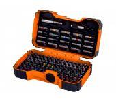 Bahco 59/S100BC-IP 100-Delige Bitset - Gleuf-, Phillips®, Pozidriv®, Hexagon, Robertson en Torx®