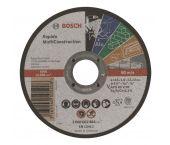 Bosch 2608602384 Rapido Doorslijpschijf - 115 x 22,23 x 1mm - universeel