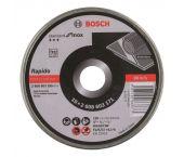 Bosch 2608603255 Standard Rapido Doorslijpschijf - 125 x 22,23 x 1mm - metaal (10st)