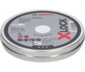Bosch 2608619266 X-Lock Slijpschijf Standard for Inox in blik - Recht - 115mm (10st)